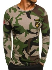 ATHLETIC 1086 Men's Long Sleeve T-Shirt - Green