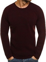 BREEZY 9022 Men's Jumper - Burgundy