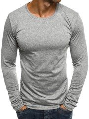 J.STYLE 2088 Men's Long Sleeve T-Shirt - Grey