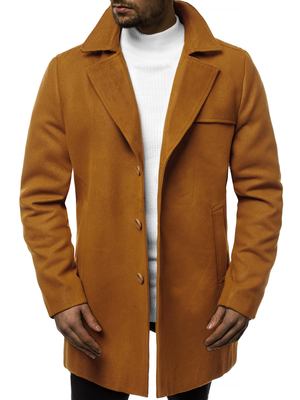 Men's Coat - Camel OZONEE N/5922Z