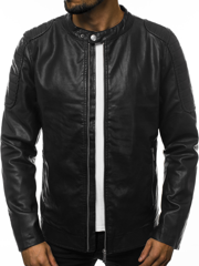 Men's Jacket - Black OZONEE JB/JP1108