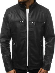 Men's Jacket - Black OZONEE JB/JP1113