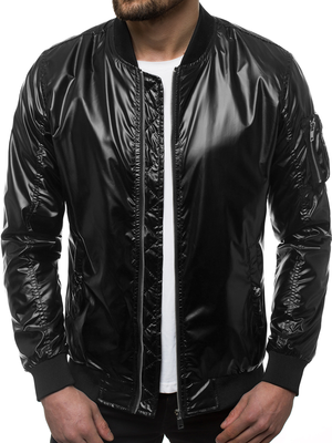 Men's Jacket - Black OZONEE N/6147