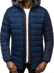 Men's Jacket - Dark blue OZONEE JB/JP1102