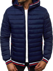 Men's Jacket - Navy blue OZONEE JS/LY1009