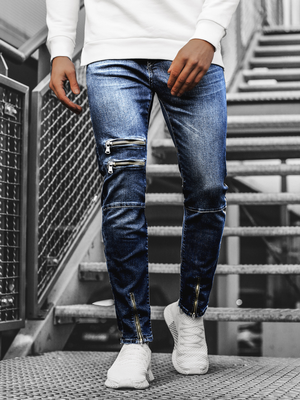 Men's Jeans - Dark Blue OZONEE G/1063
