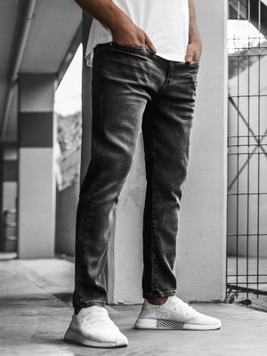 Men's Jeans - Dark grey OZONEE B/7170Z