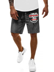 Men's Shorts - Black JS/KK300101