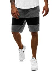Men's Shorts - Dark grey OZONEE JS/81011