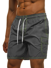 Men's Shorts - Dark grey OZONEE MHM/370