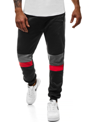 Men's Sweatpants - Black OZONEE JS/35002