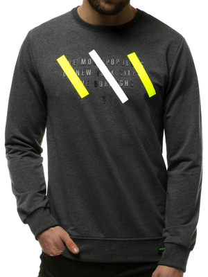 Men's Sweatshirt - Anthracite OZONEE MACH/2105