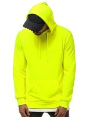 Men's Sweatshirt - Yellow neon OZONEE MACH/3120Z