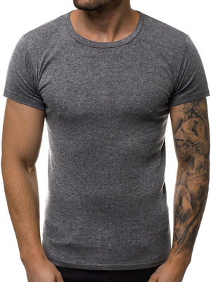 Men's T-Shirt - Dark Grey OZONEE JS/NB003