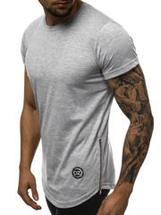 Men's T-Shirt - Grey OZONEE O/1255