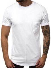 Men's T-Shirt - White OZONEE MR/19101