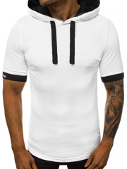 Men's T-Shirt - White OZONEE O/1273