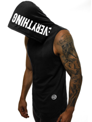 Men's Tank Top - Black OZONEE O/1283