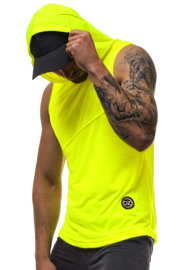 Men's Tank Top - Yellow-neon OZONEE O/2538X