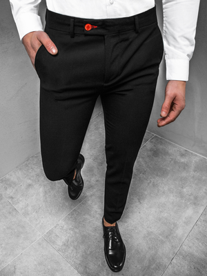 Men's Trousers - Black OZONEE DJ/5511