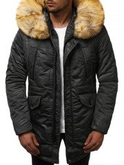 Men's Winter Jacket - Black OZONEE JD/339