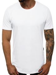 OZONEE B/181227 Men's T-Shirt - White