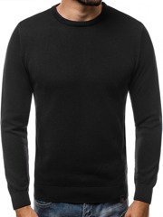 OZONEE B/2433 Men's Jumper - Black