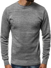 OZONEE HR/1838 Men's Jumper - Grey