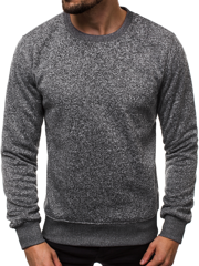 OZONEE JS/2001-20 Men's Sweatshirt - Dark Grey