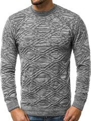 OZONEE O/1024AS Men's Jumper - Dark grey