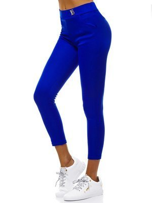 Women's Leggings - Blue OZONEE JS/1026/D9