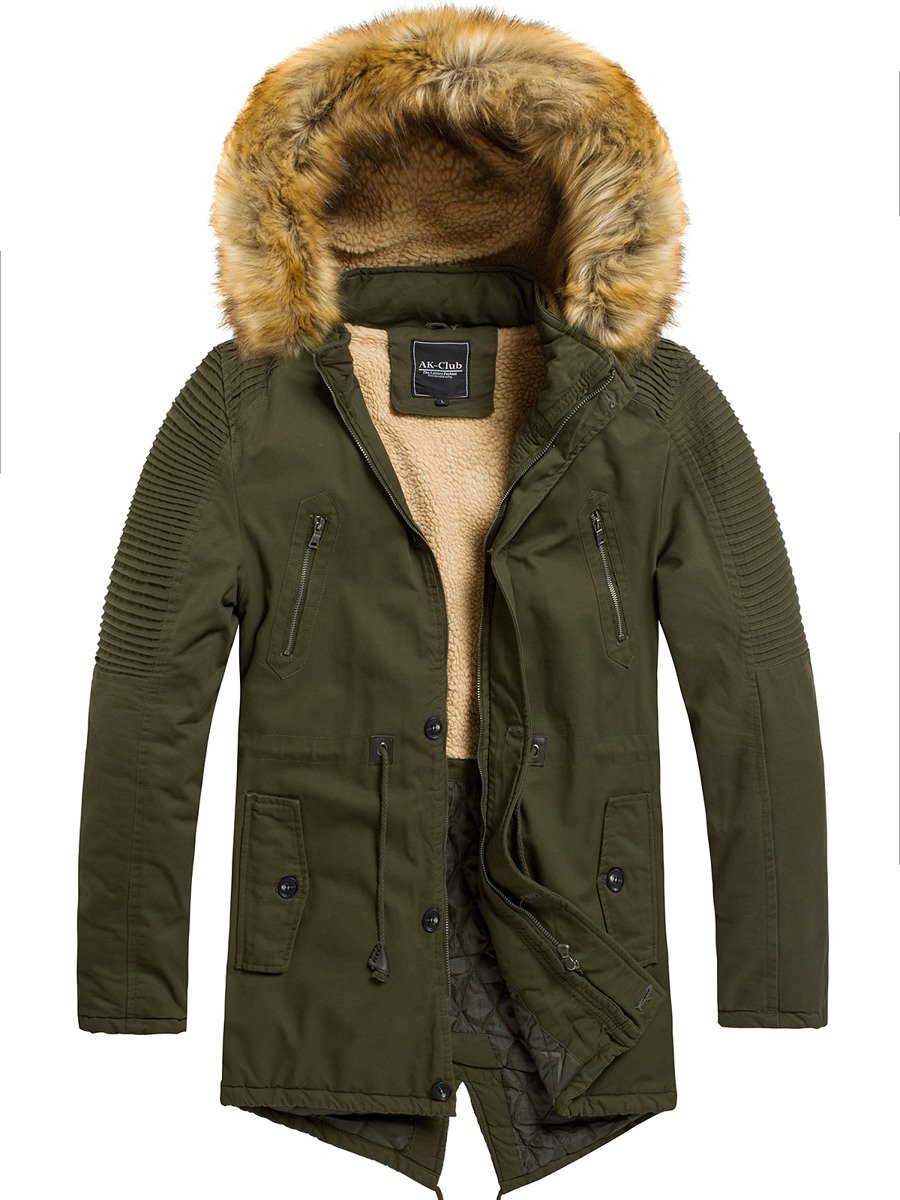 AK CLUB YL003 Men's Jacket Khaki