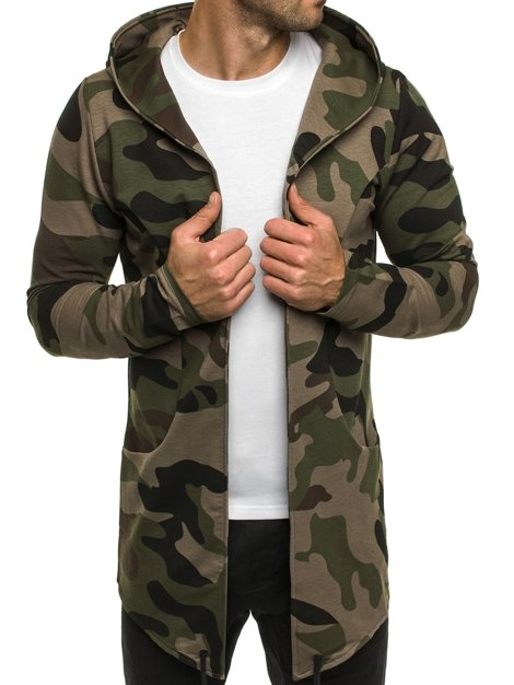 ATHLETIC 0790 Men's Sweatshirt - Camo-Green