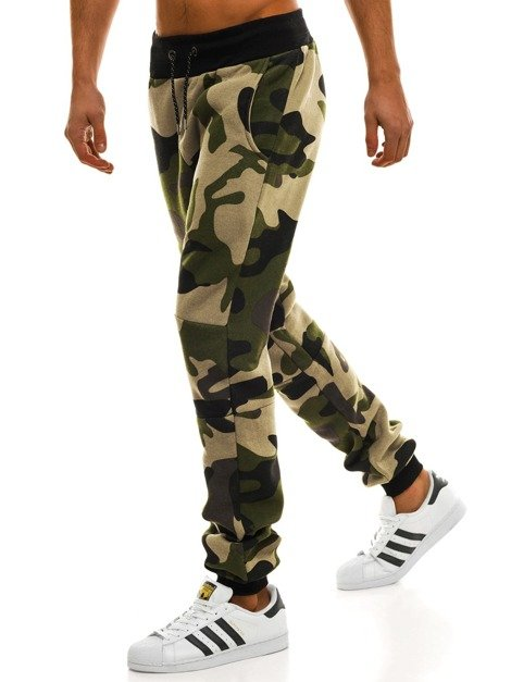 ATHLETIC 0801A Men's Jogger Sweatpants - Camo/02