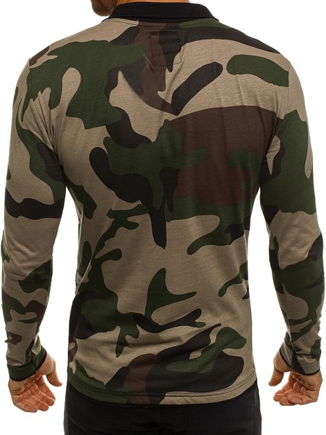 ATHLETIC 1156 Men's Long Sleeve T-Shirt - Green