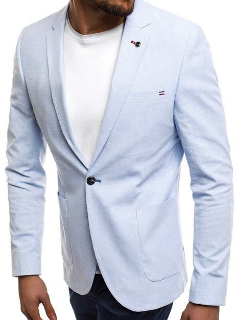 BLACK ROCK 07 Men's Suit Jacket - Light Blue