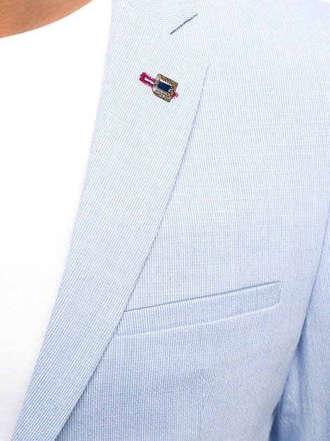 BLACK ROCK 08 Men's Suit Jacket - Light Blue