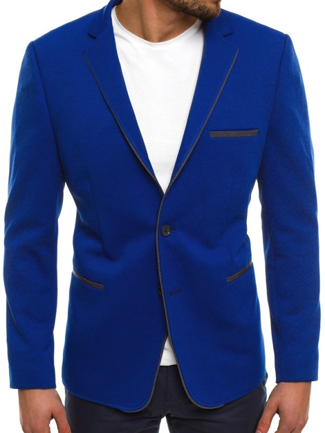 BLACK ROCK 20297 Men's Suit Jacket - Cobalt