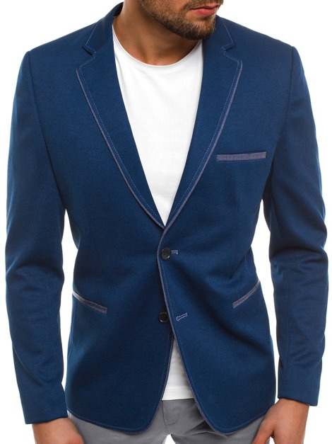 BLACK ROCK 20297 Men's Suit Jacket - Indigo