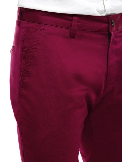 BLACK ROCK 210 Men's Chinos - Burgundy