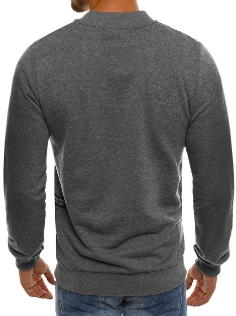BREEZY 171375 Men's Sweatshirt - Dark grey