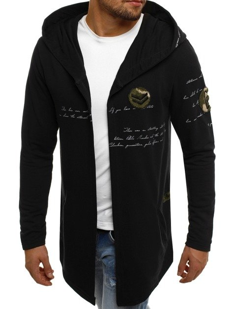 BREEZY 171387 Men's Sweatshirt - Black