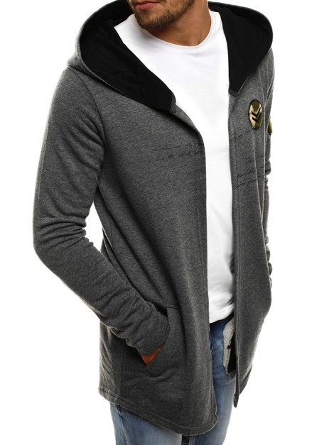 BREEZY 171387 Men's Sweatshirt - Dark grey