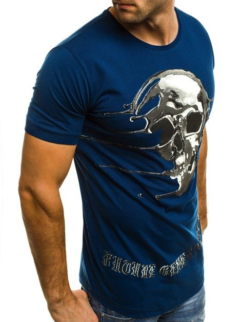 BREEZY 181056 Men's T-Shirt - Indigo