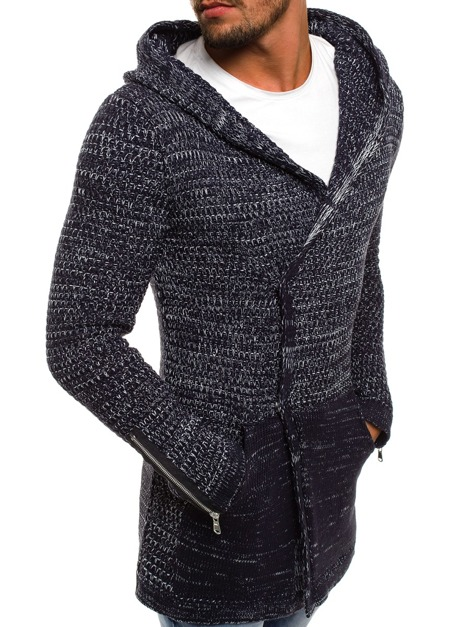 BREEZY B9025S Men's Jumper - Navy blue