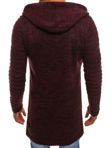 BREEZY B9027S Men's Jumper - Burgundy