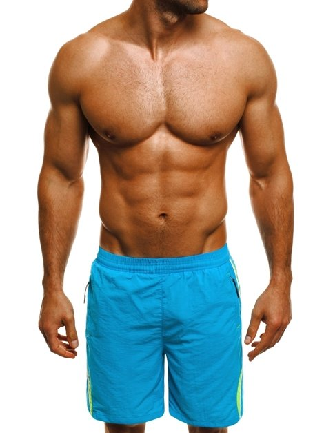 HOT RED WK16 Men's Shorts - Turquoise