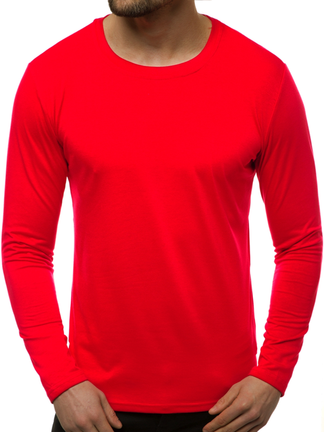 J.STYLE 2088 Men's Long Sleeve T-Shirt - Red