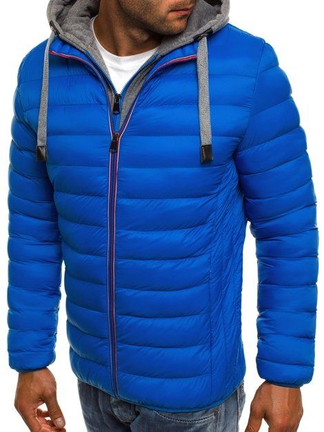 J.STYLE 505-10 Men's Jacket - Blue