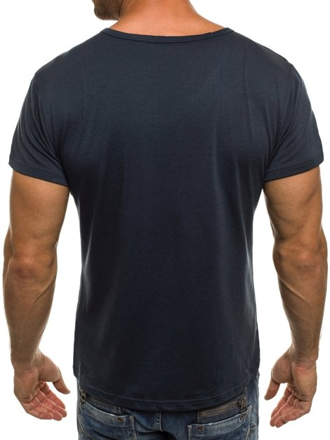 J.STYLE 712007 Men's T-Shirt - Navy blue